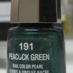 Vernis Mavala Peacock Green