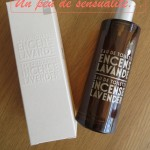 Mon parfum du moment : Encens Lavande de Compagnie de Provence !