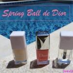 Mon vernis de l'été : Spring Ball de Dior !