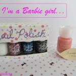 I'm a Barbie Girl ou la manucure rose qui sent … la rose !