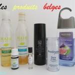 Les produits de beauté belges de ma salle de bain !