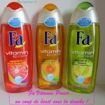 Fa Vitamin Power : un coup de boost sous la douche !