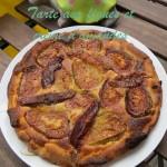 Douceur du dimanche : tarte aux figues et crème d'amandes
