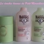 Les douches baumes Nutrition Intense du Petit Marseillais pour une hydratation 24 h