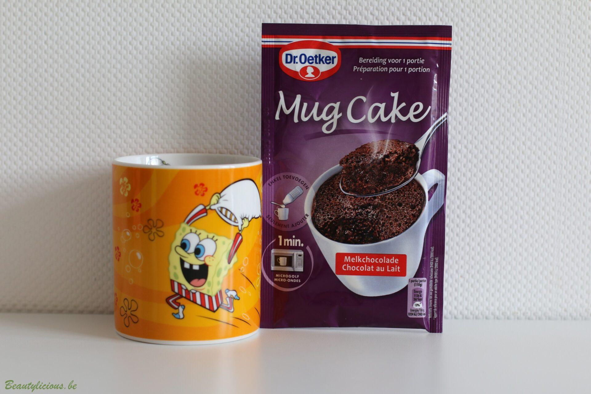 Mug Cake Chocolat Smarpoints
