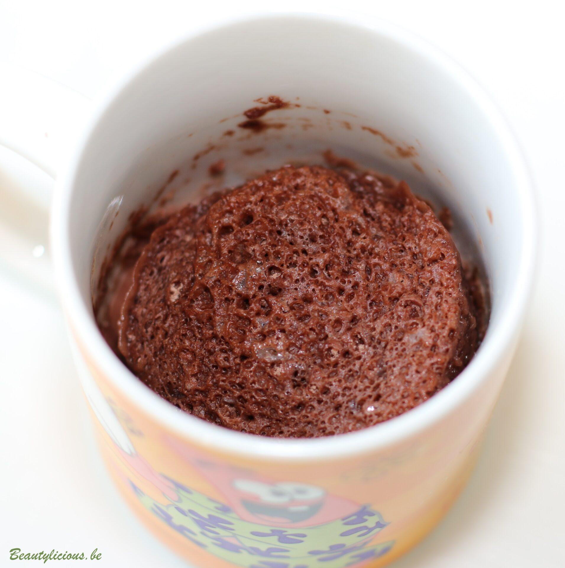 Mug Cake Lait De Soja Caramel