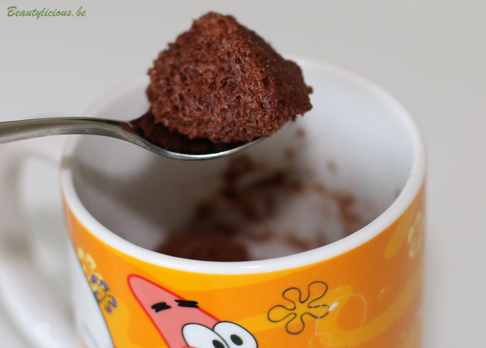 Mug Cake Chocolat Liquide Sans Oeufs Ni Lait