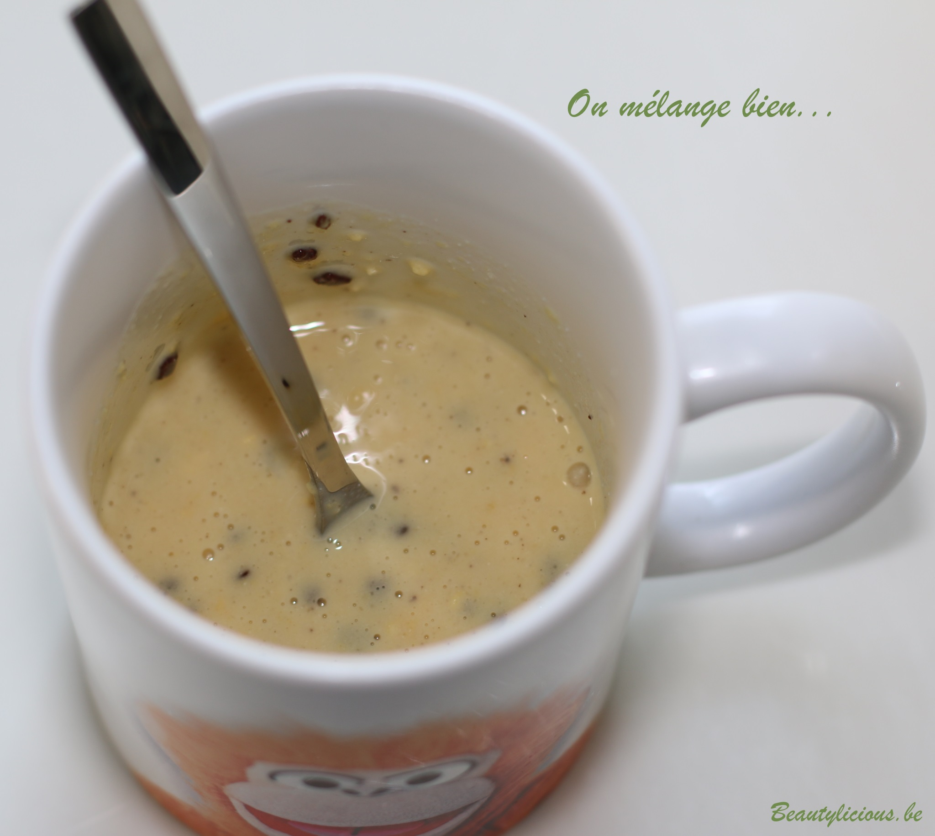 Mug Cake Lait De Coco