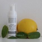 Quand la menthe et le citron s'associent pour venir à la rescousse de ma peau !