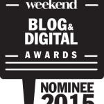 Le blog est nominé aux Weekend Blog & Digital Awards 2015 !