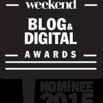 Le blog est nominé aux Weekend Blog & Digital Awards 2015 !