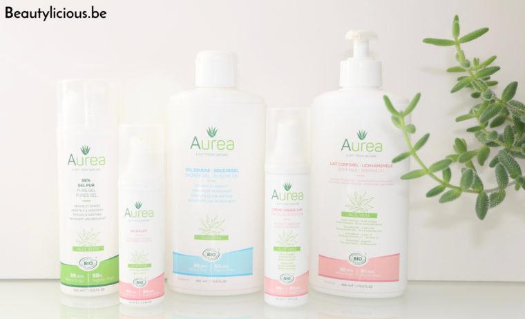 Auréa, gamme belge de cosmétiques bio, naturels et vegan