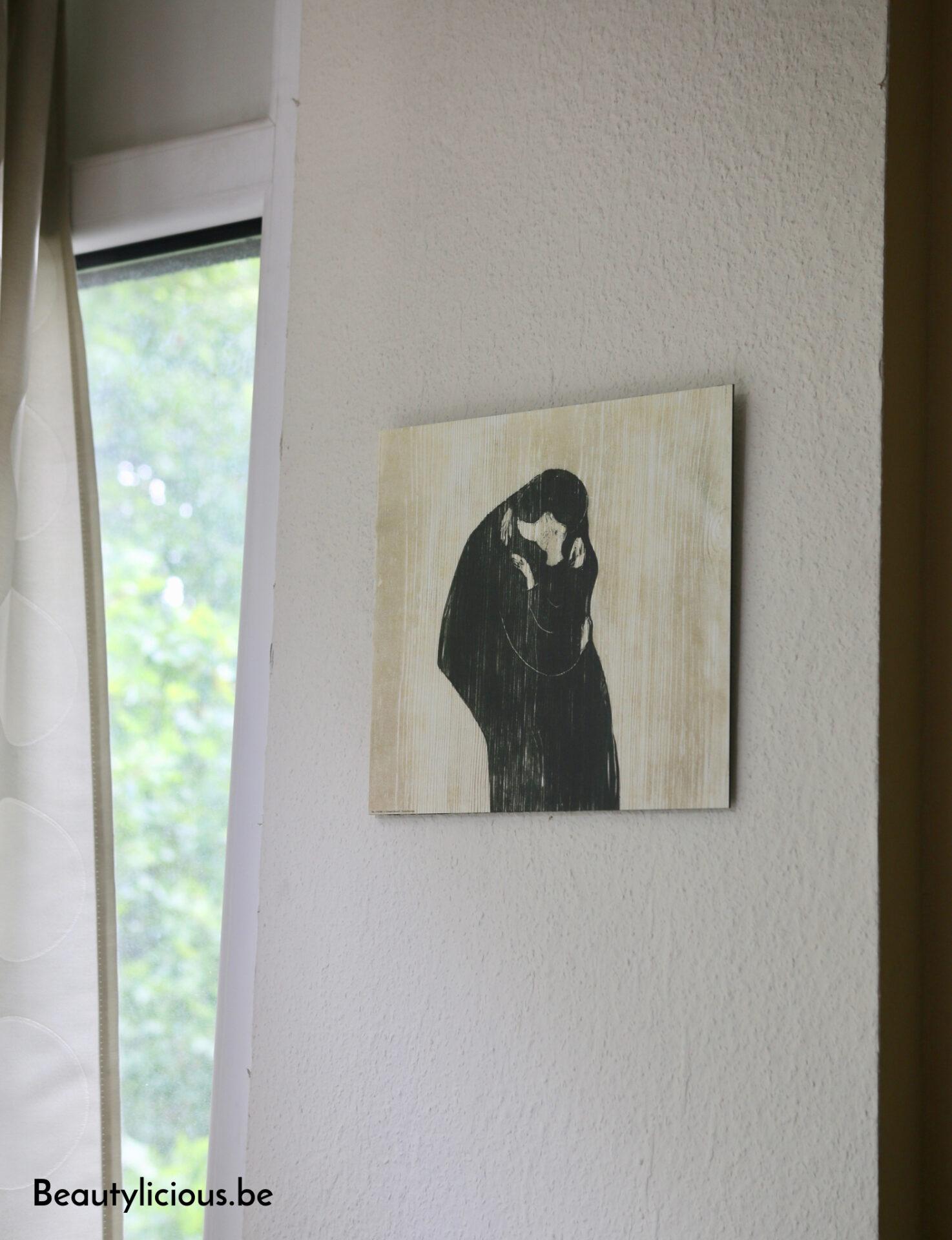 Impression sur aluminium Le Baiser IV de Munch sur Posterlounge
